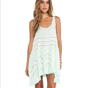 Free People Voile Trapeze Dress